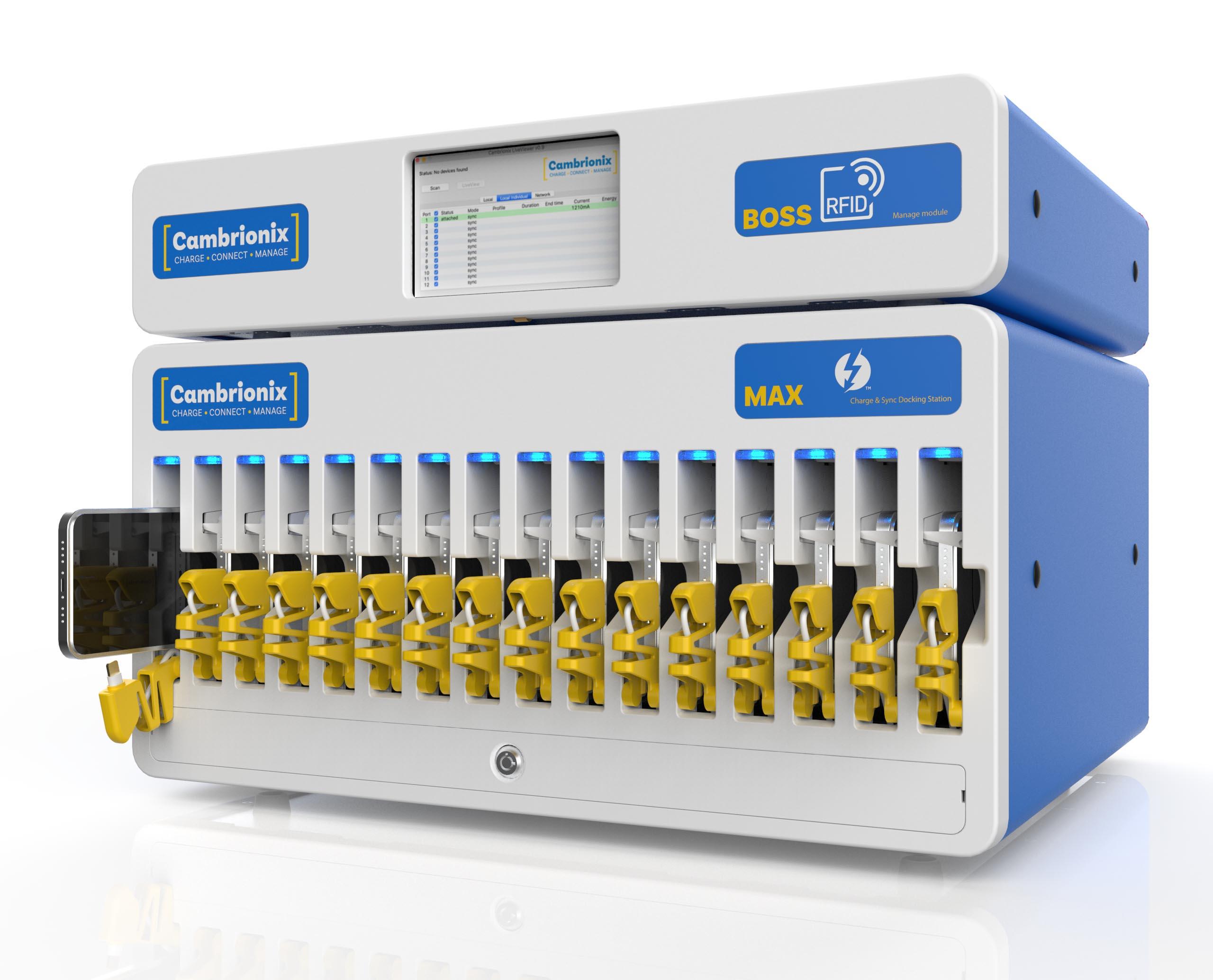 USB-hub-modular-smart-charging-docking-station